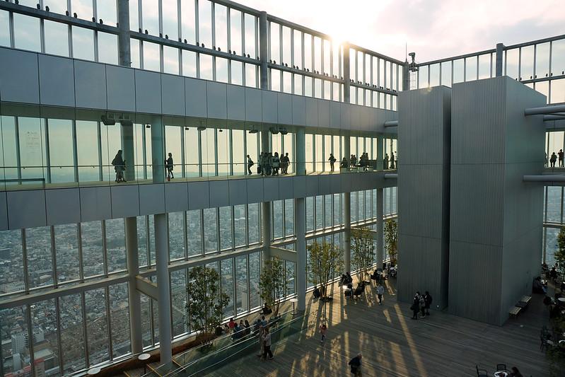Harukas observation deck